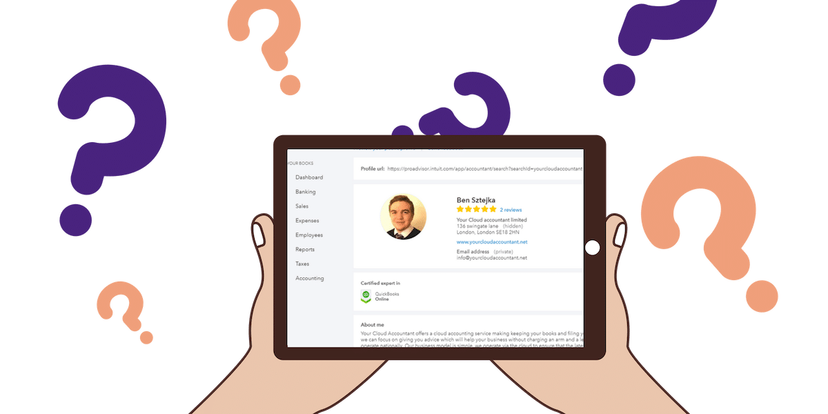 Quickbooks online limited company accountant