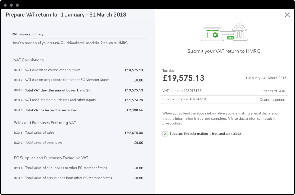 Quickbooks software Making Tax Digital for small businesses