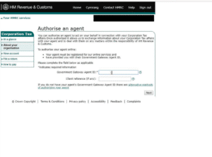 How to add an accountant as an agent on HMRC
